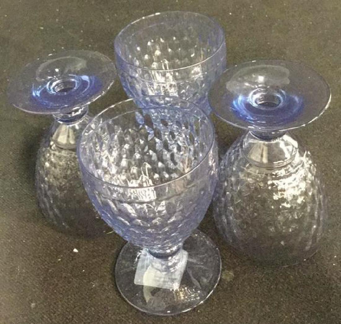 VILLEROY BOSCH 10 Water Wine Goblets Coasters - 6