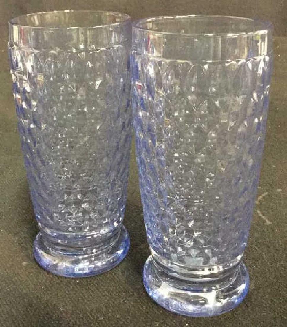 VILLEROY BOSCH 10 Water Wine Goblets Coasters - 7