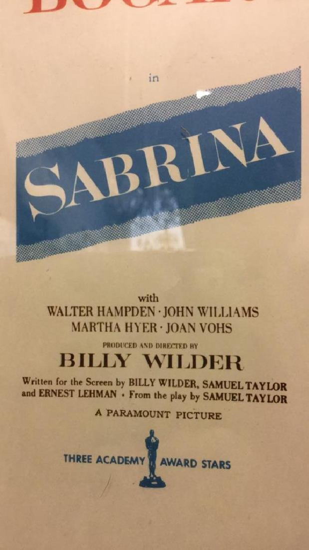 Professionally Framed Print of SABRINA - 8