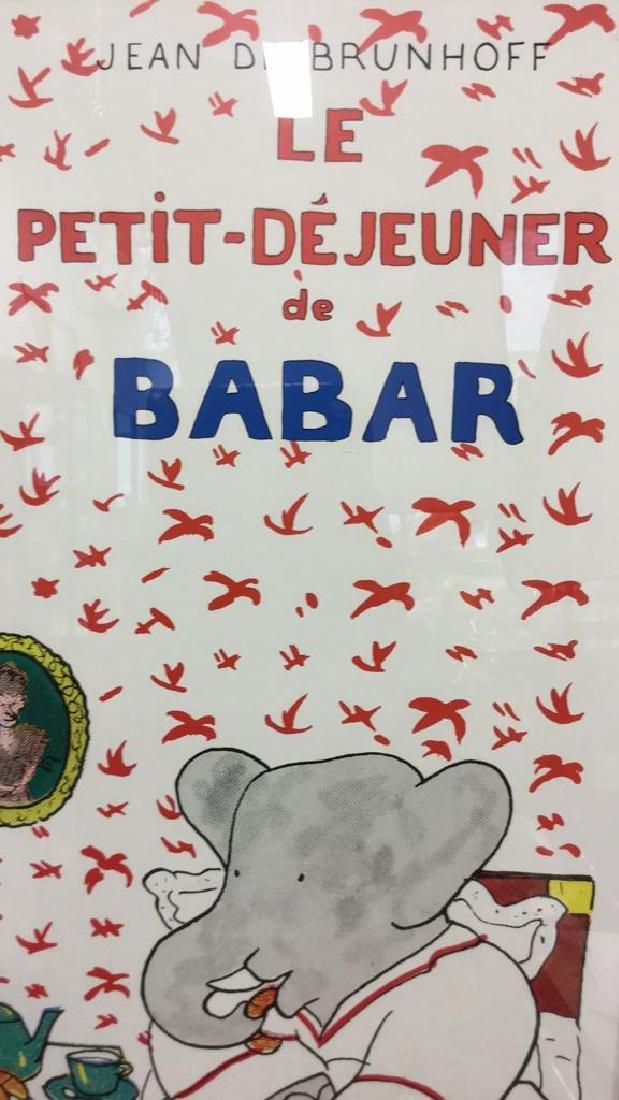 JEAN DE BRUNHOFF LE PETIT DEJEUNER DE BABAR - 5