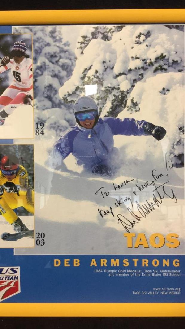 DEB ARMSTRONG Signed US Ski TeeamPoster - 3