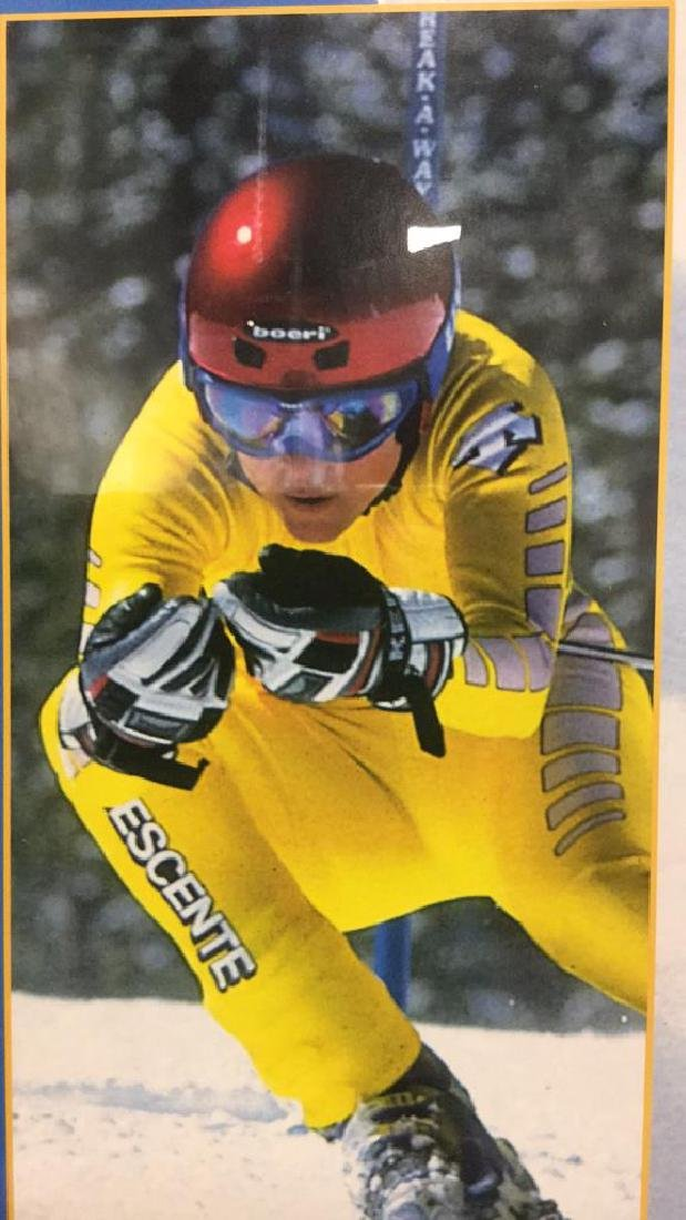 DEB ARMSTRONG Signed US Ski TeeamPoster - 8