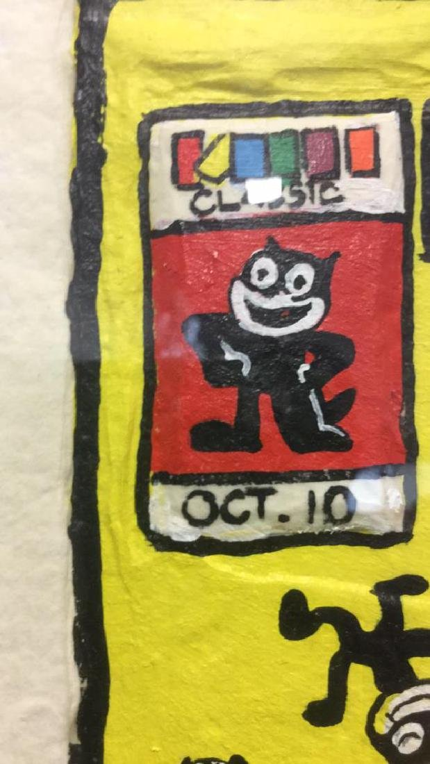 FELIX THE CAT Signed Artist Proof - 7