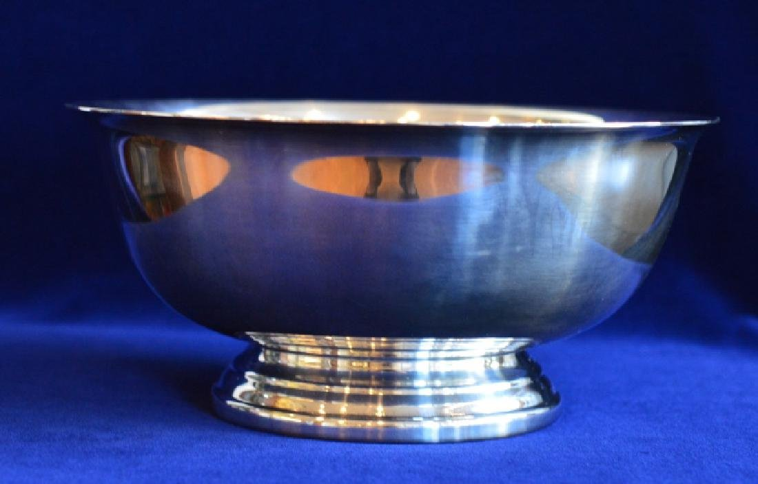 """8"""" Gorham Silver Electroplate Round Footed Bowl"""