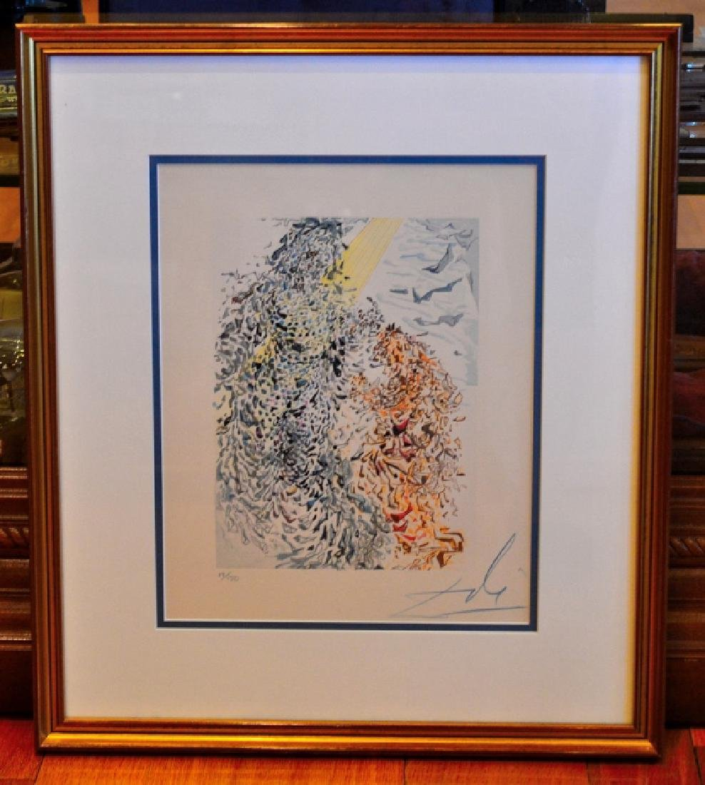 "Salvador Dali Signed Lithograph ""Paradise"" - 2"