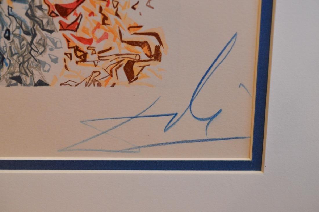 "Salvador Dali Signed Lithograph ""Paradise"" - 3"