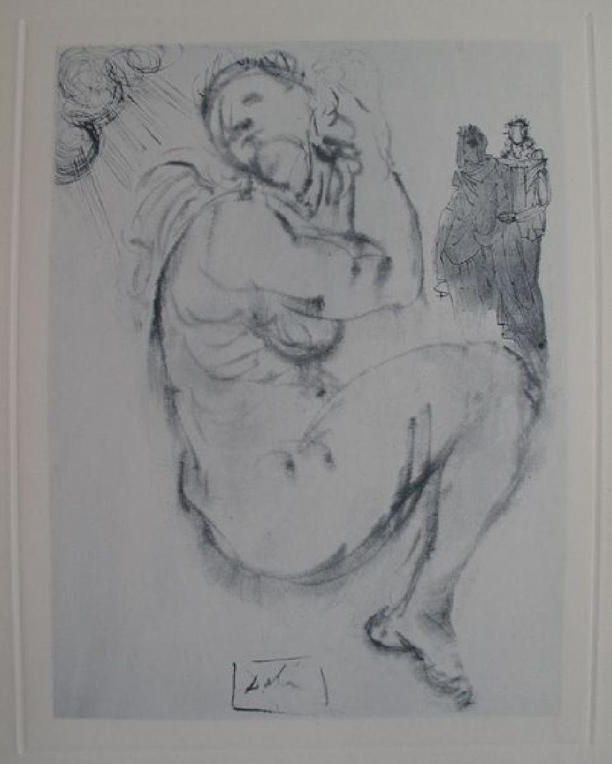 Salvador Dali Signed Lithograph The Siren of Dream - 3