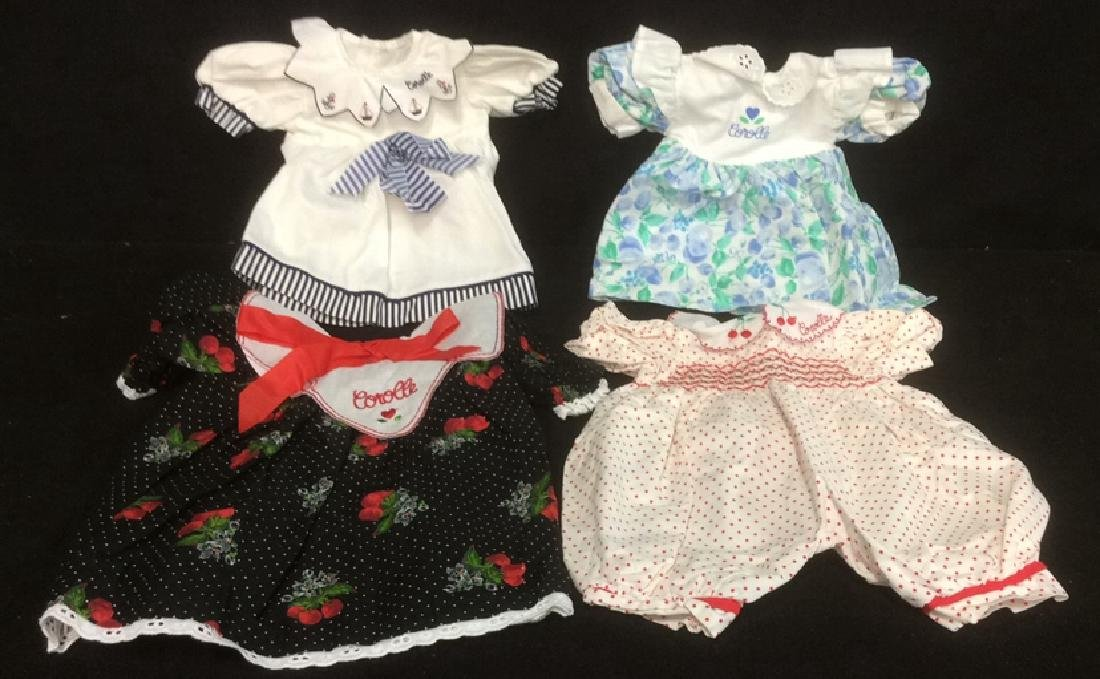Assorted Corolle Doll Fashion Clothes