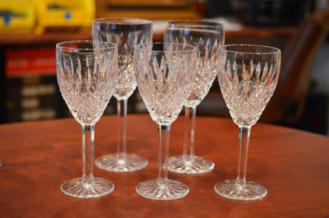 Lot of Mixed Waterford & Crystal Glasses - 2