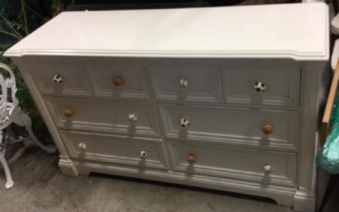 LEXINGTON White Wood Bedroom Dresser