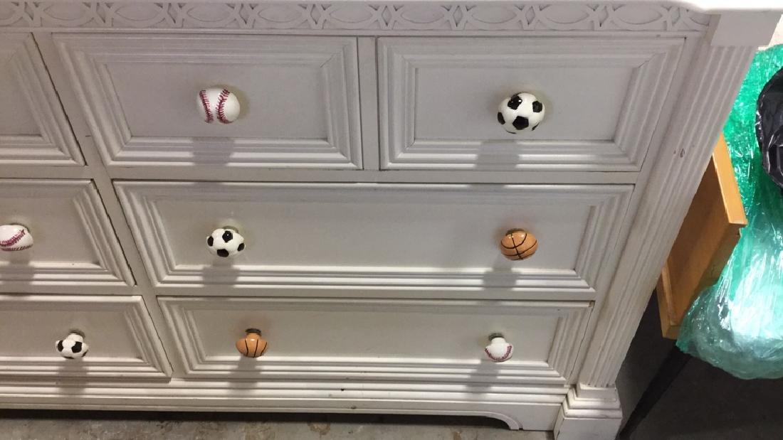 LEXINGTON White Wood Bedroom Dresser - 2