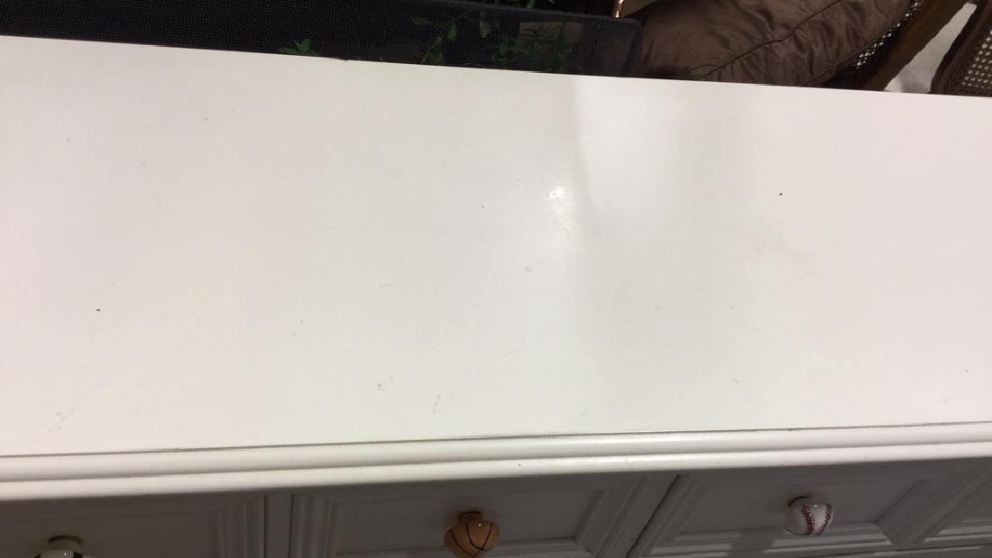LEXINGTON White Wood Bedroom Dresser - 4