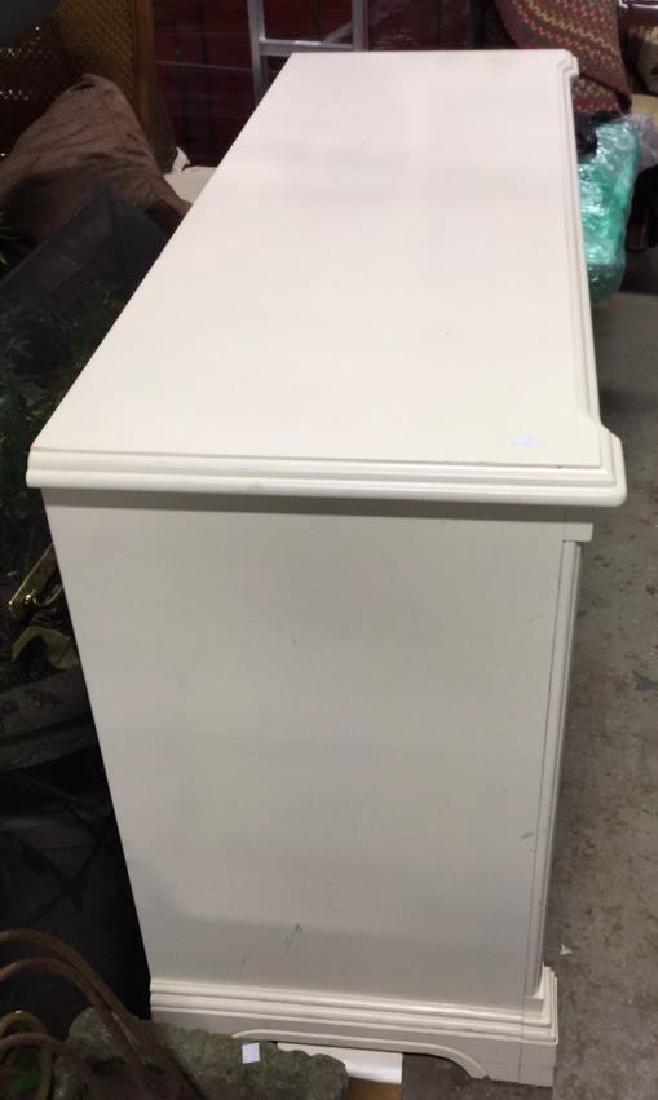 LEXINGTON White Wood Bedroom Dresser - 6