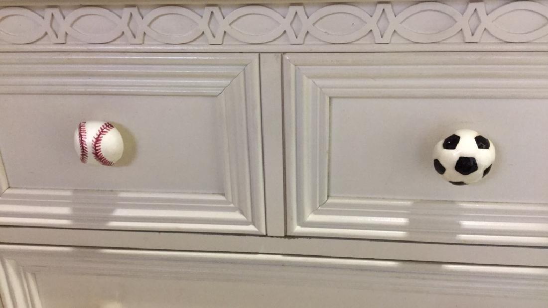 LEXINGTON White Wood Bedroom Dresser - 7