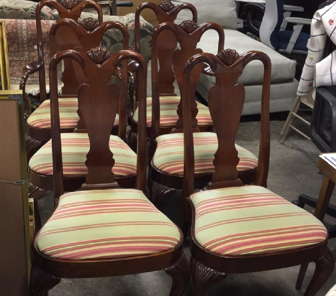 Set of 6 HICKORY Dining Chairs