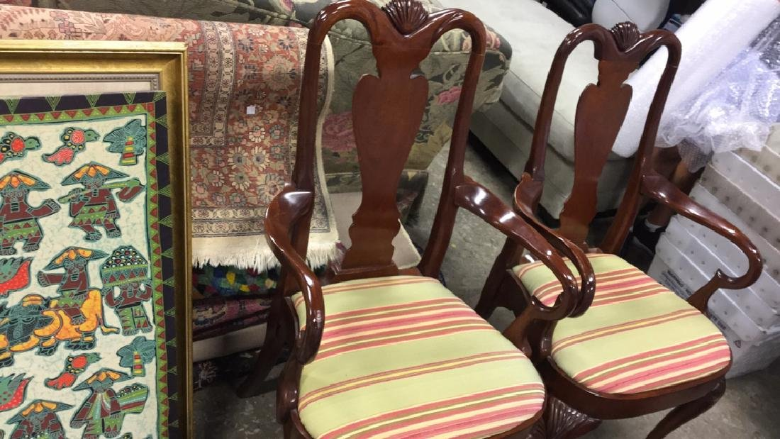 Set of 6 HICKORY Dining Chairs - 4