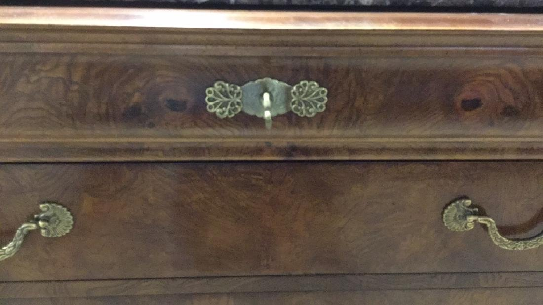 HENREDON Charles X Style Marbletop Commode - 4