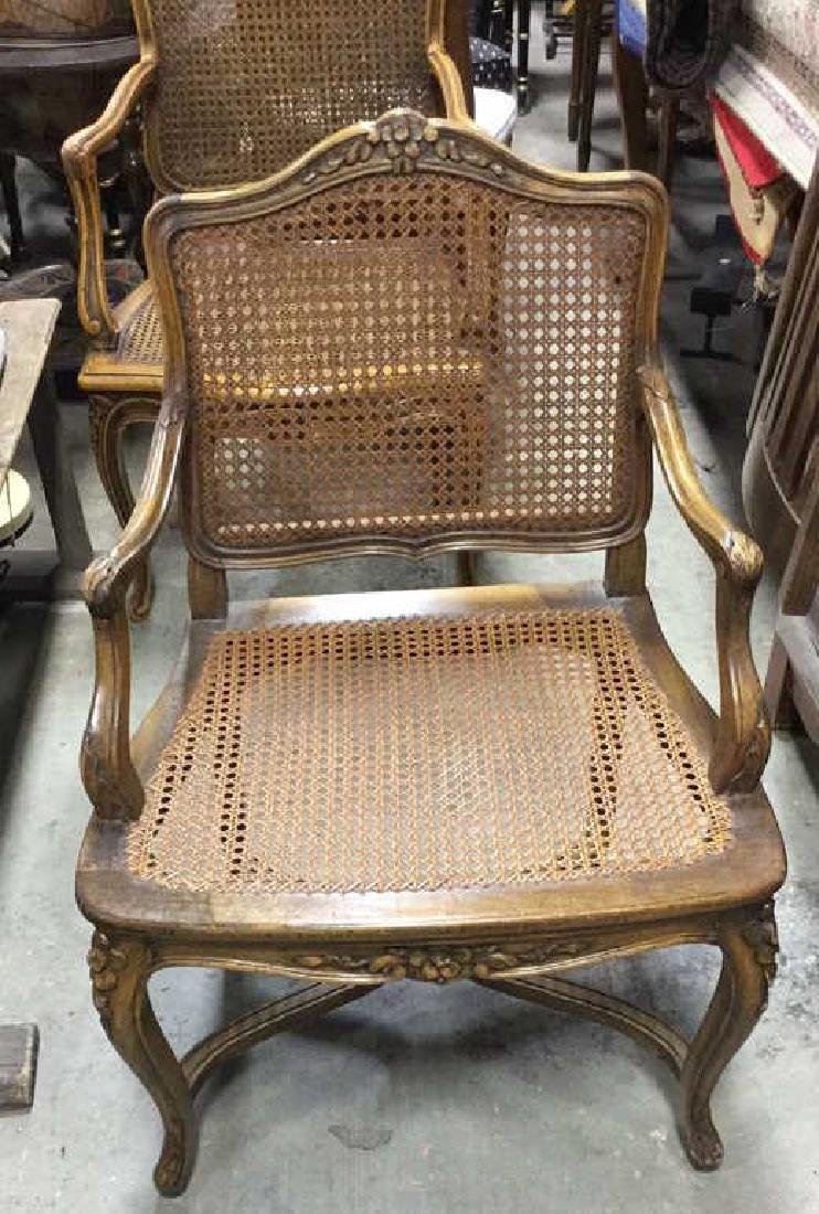 Set 6 Vintage Country French Style Chairs - 3