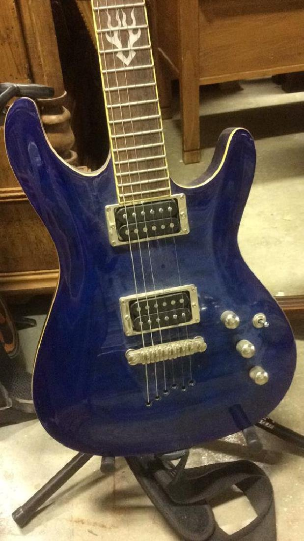 Ibanez Electric Guitar with Stand