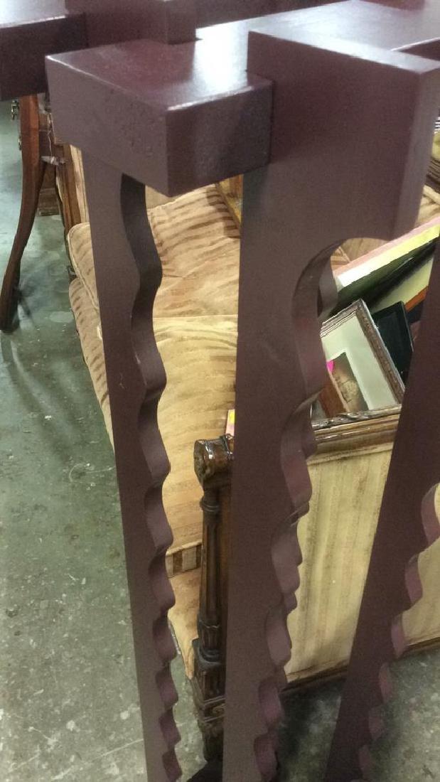 Hanging Standing Wood Wine Rack - 3