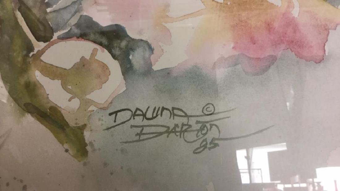 DALINA DARTON Framed Print - 5