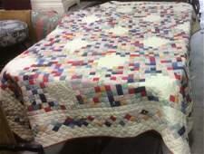 Cotton Vintage Patchwork Quilt