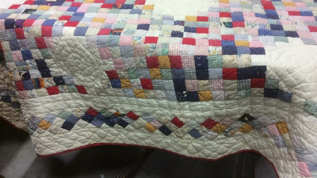 Cotton Vintage Patchwork Quilt - 2