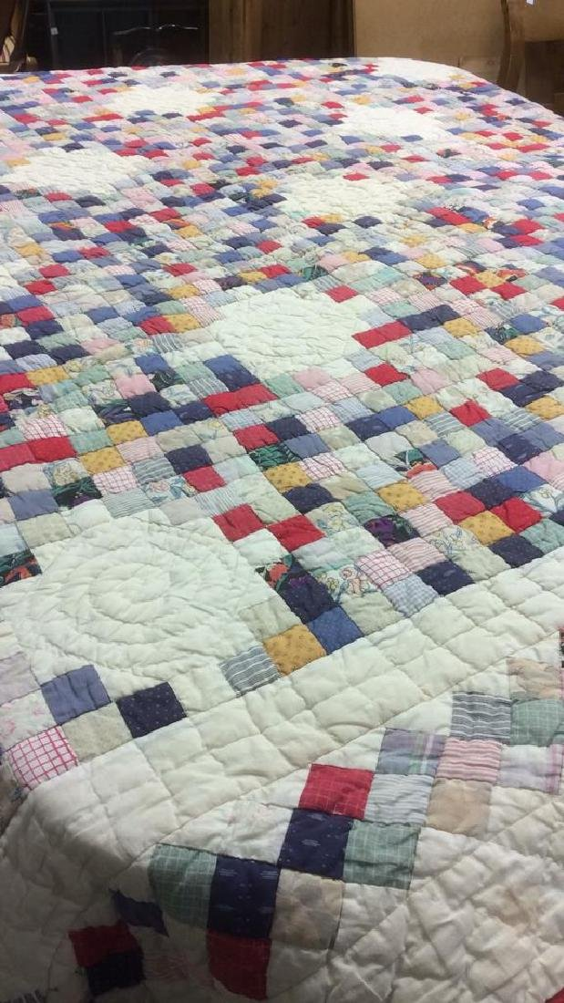 Cotton Vintage Patchwork Quilt - 6