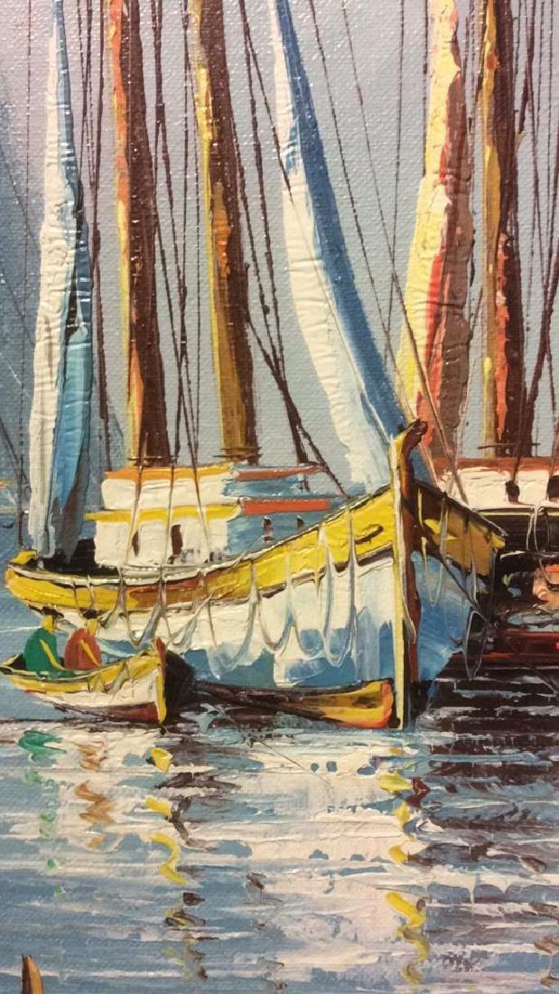 B Wilder Maritime Oil on Canvas - 6