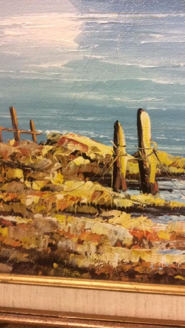 B Wilder Maritime Oil on Canvas - 8