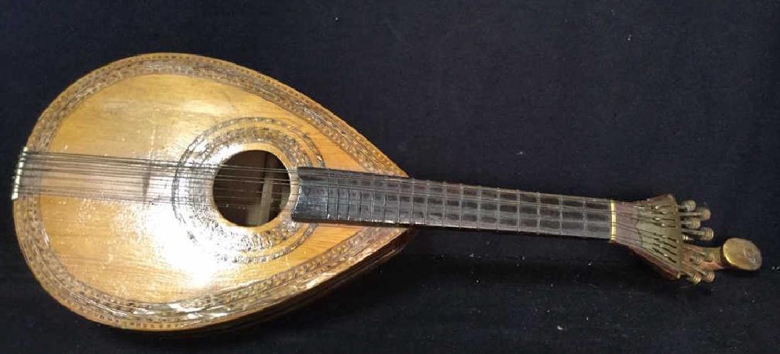 Vintage Wooden Ukulele/Mandolin - 2