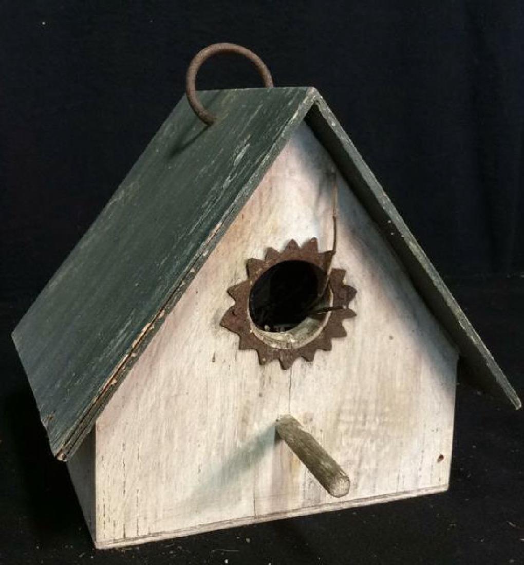 Weathered Wooden Birdhouse - 2
