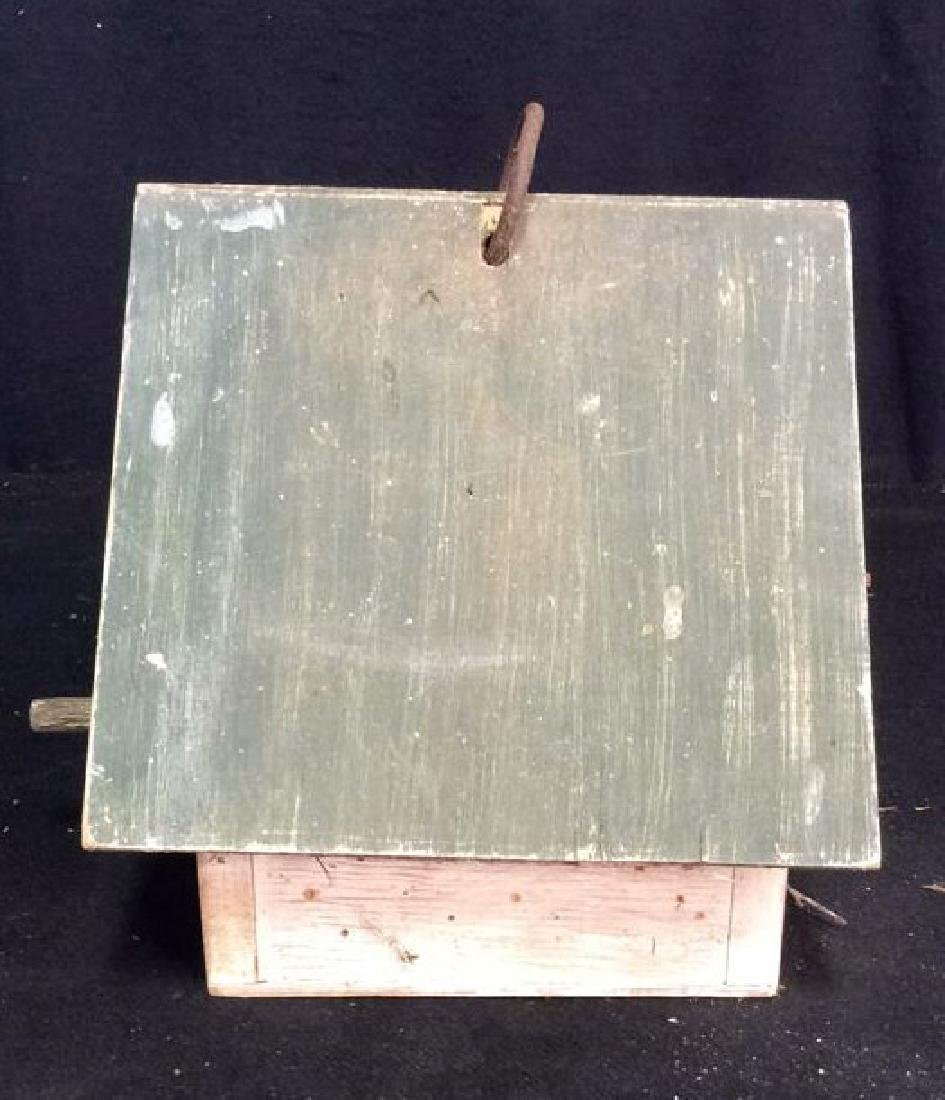 Weathered Wooden Birdhouse - 9