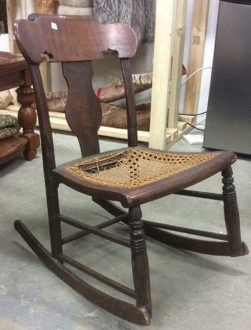 Antique Empire Rocking Chair