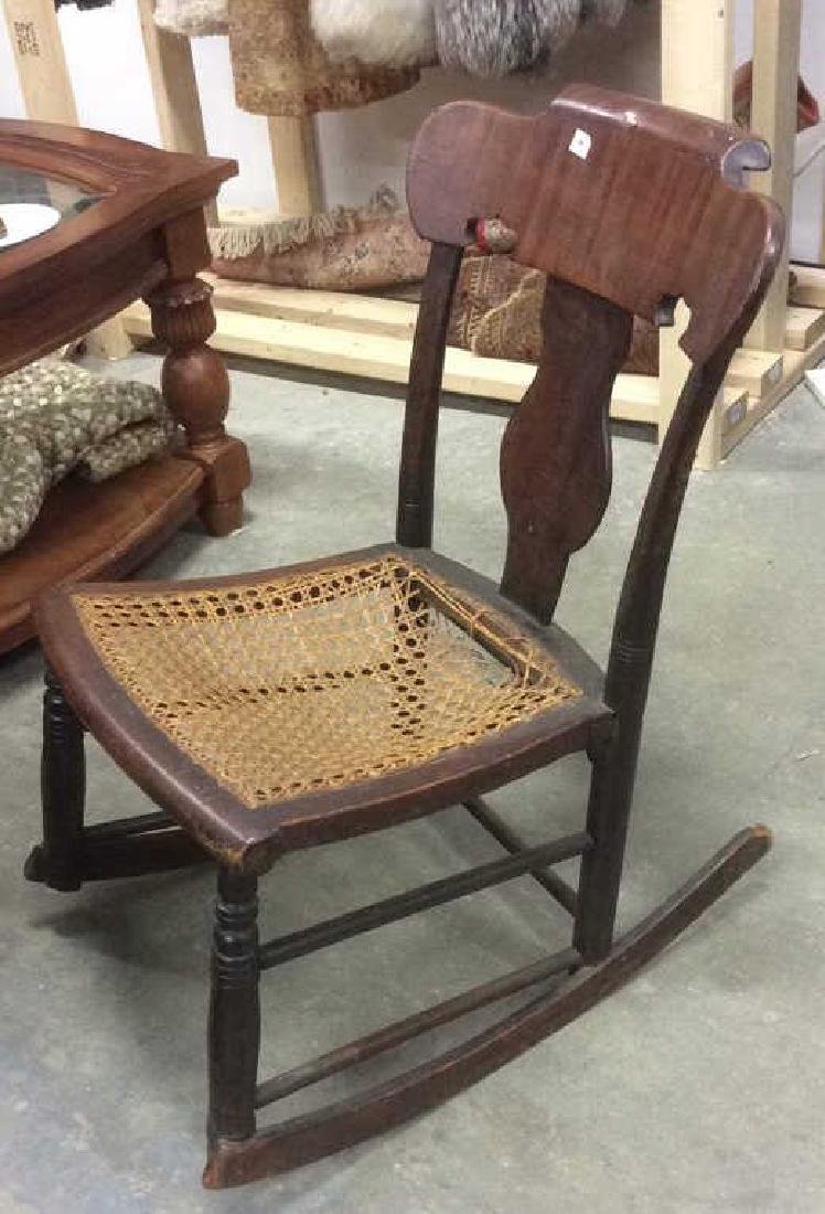 Antique Empire Rocking Chair - 3
