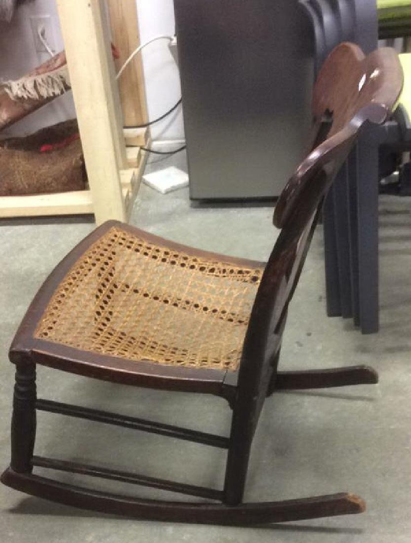 Antique Empire Rocking Chair - 5