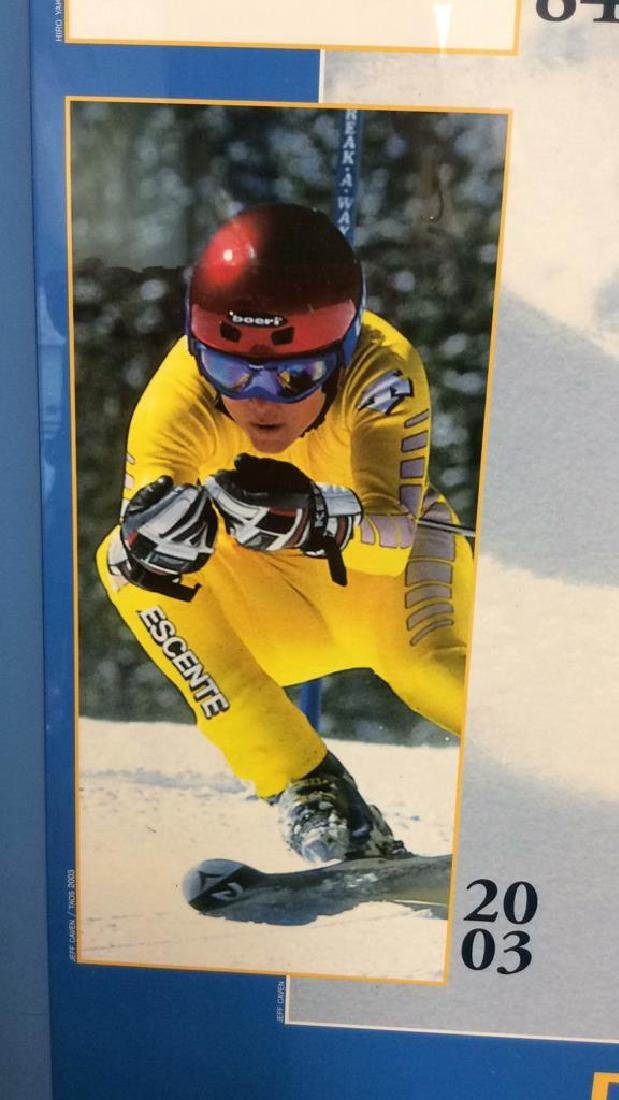 Signed Deb Armstrong Ski Poster - 10