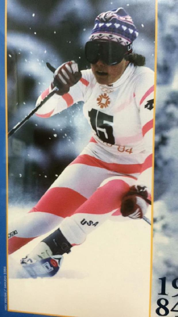 Signed Deb Armstrong Ski Poster - 8