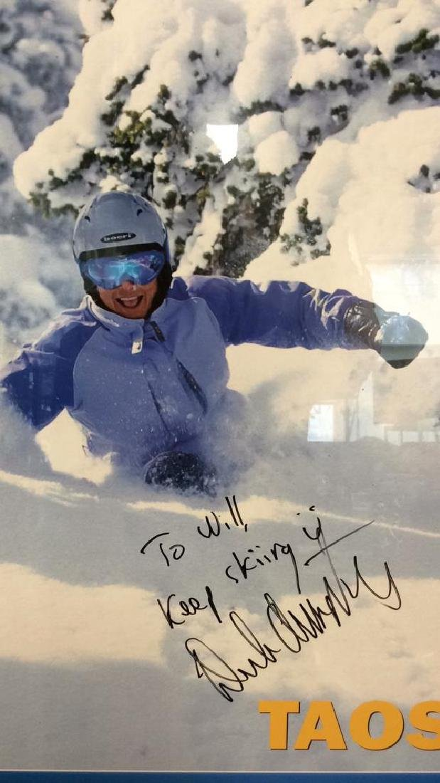 Signed Deb Armstrong Ski Poster - 9