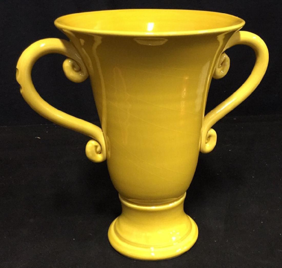 Trophy Style Ceramic Vase - 3