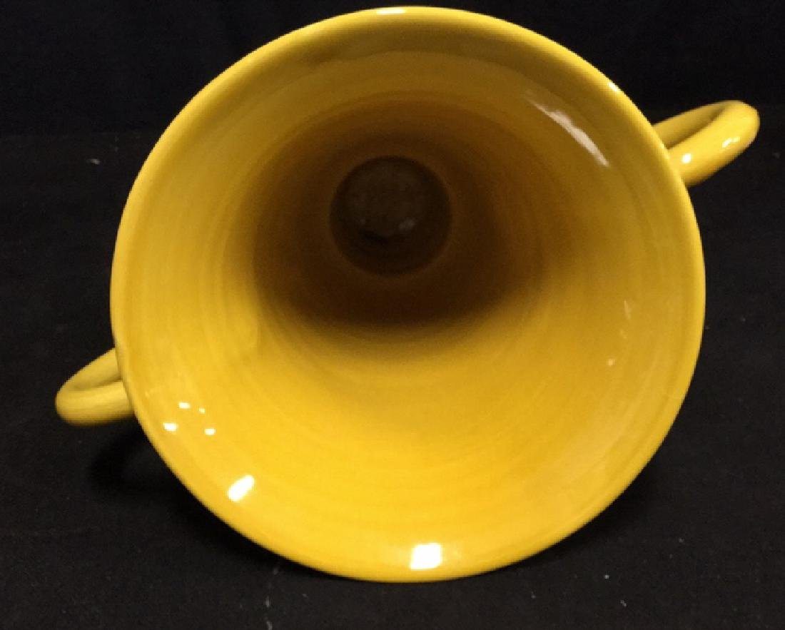 Trophy Style Ceramic Vase - 6