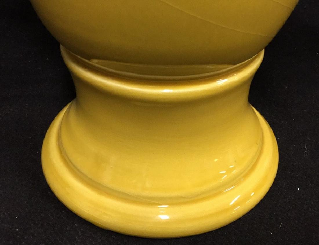Trophy Style Ceramic Vase - 8