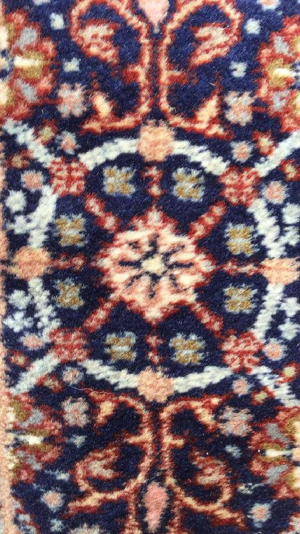 Oriental Style Fringed Detailed Wool Carpet - 4