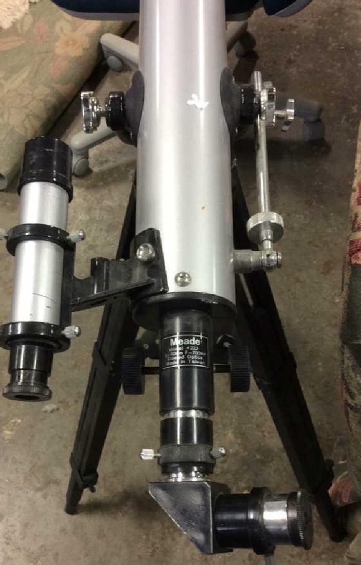 Meade Model 222 Telescope w Tripod