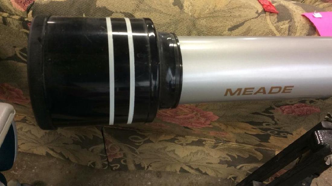 Meade Model 222 Telescope w Tripod - 3