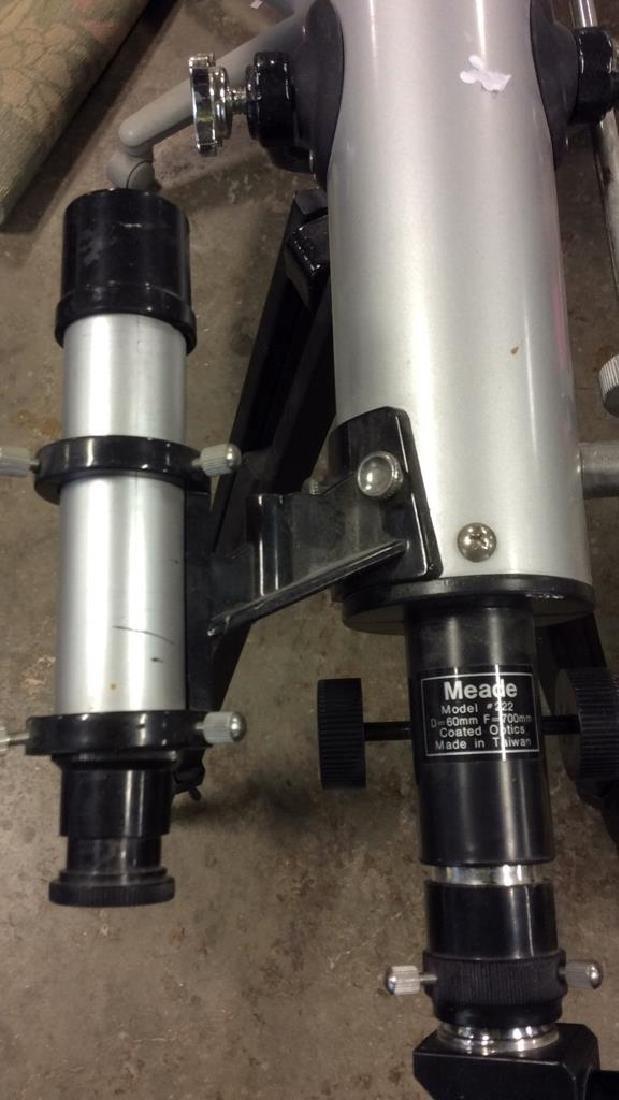 Meade Model 222 Telescope w Tripod - 7