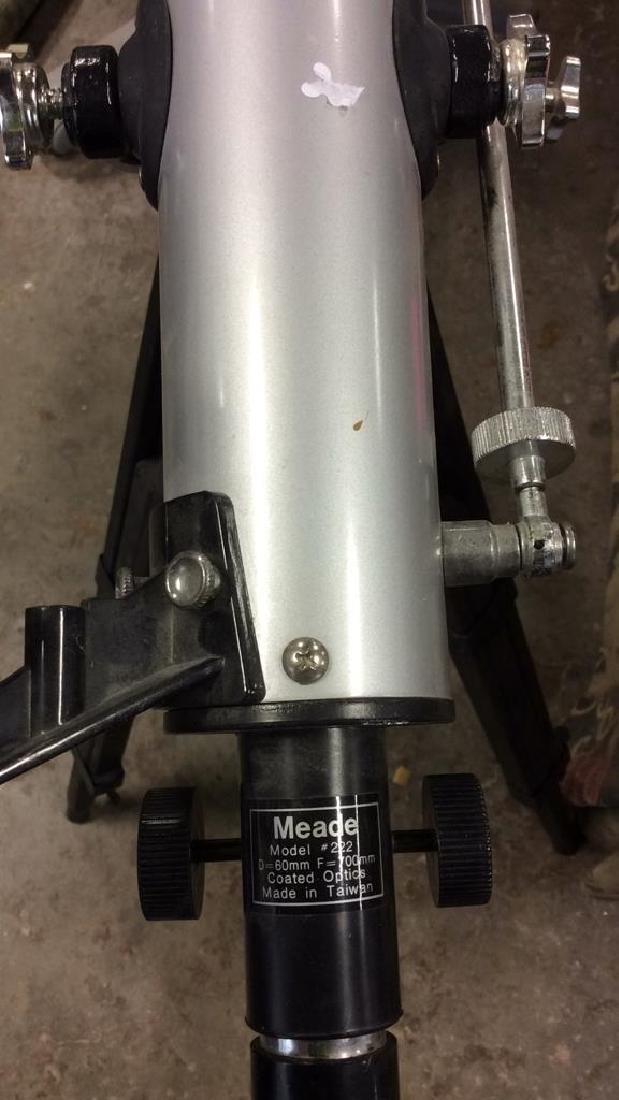 Meade Model 222 Telescope w Tripod - 8