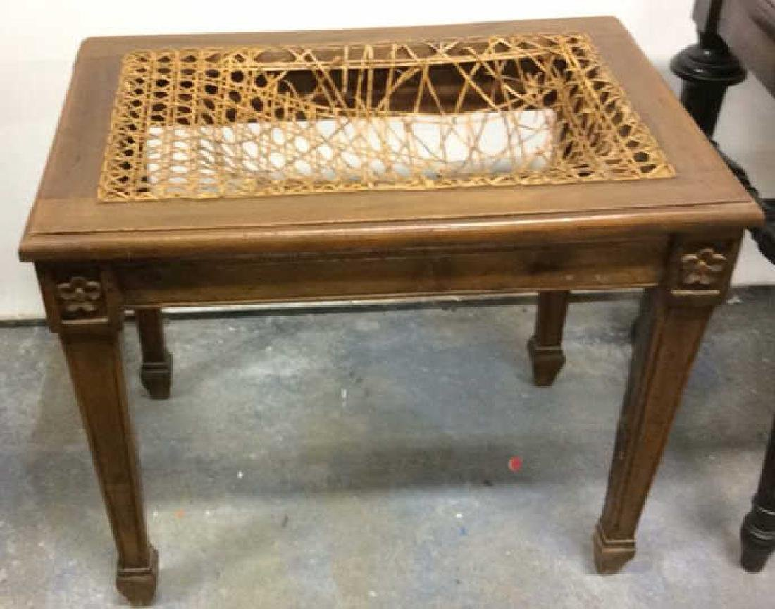 Lot 2 Wooden Antique Benches - 2