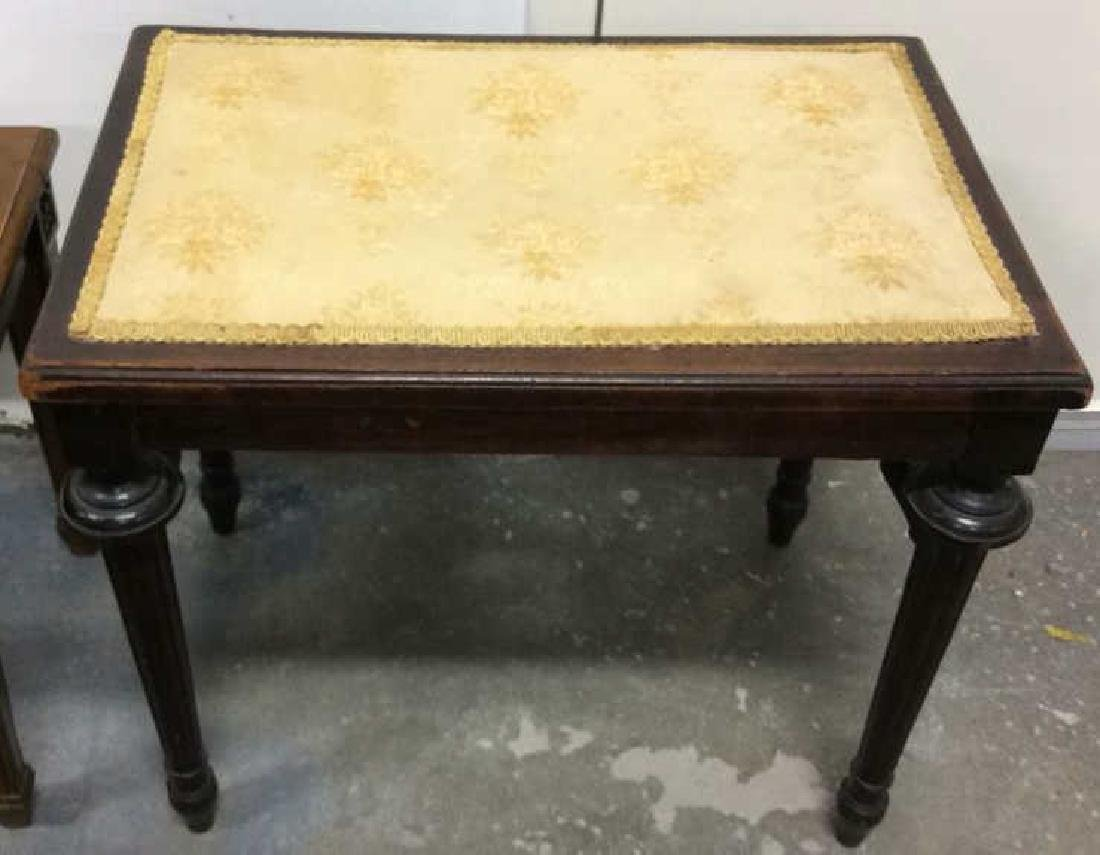 Lot 2 Wooden Antique Benches - 3