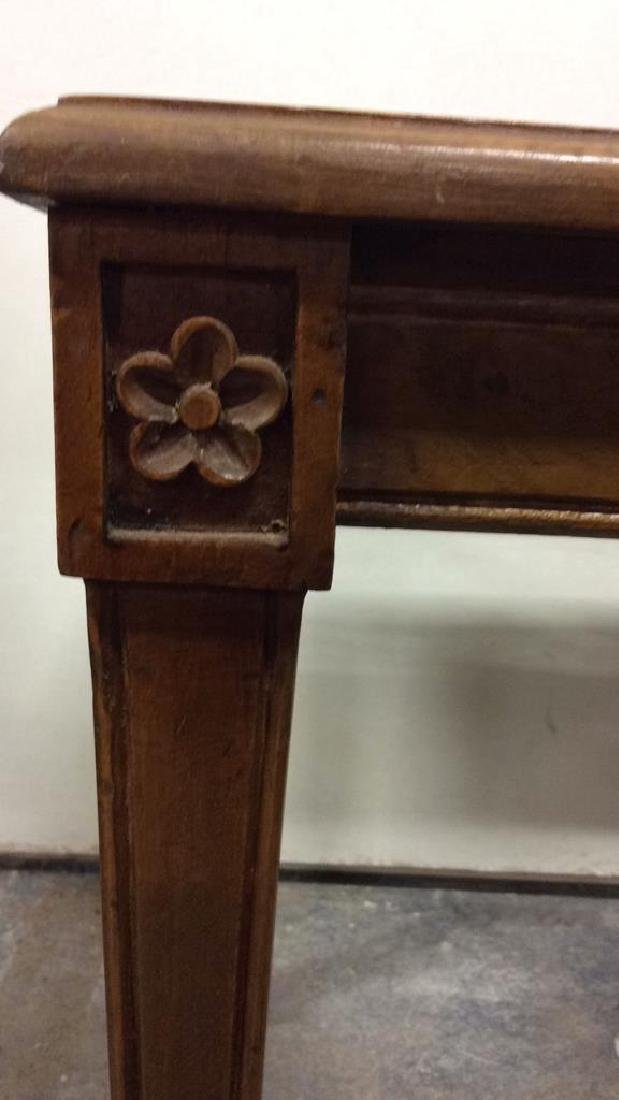 Lot 2 Wooden Antique Benches - 6
